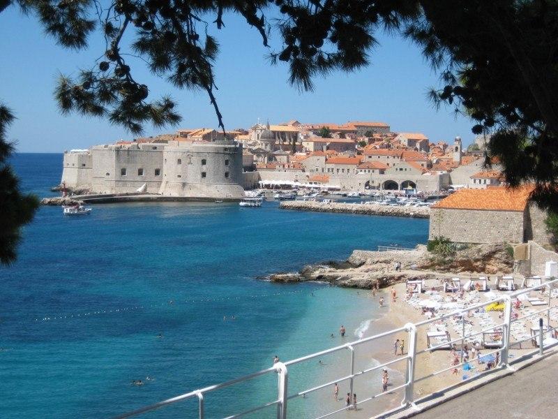 Banje Beach | Dubrovnik Travel Blog Croatia F