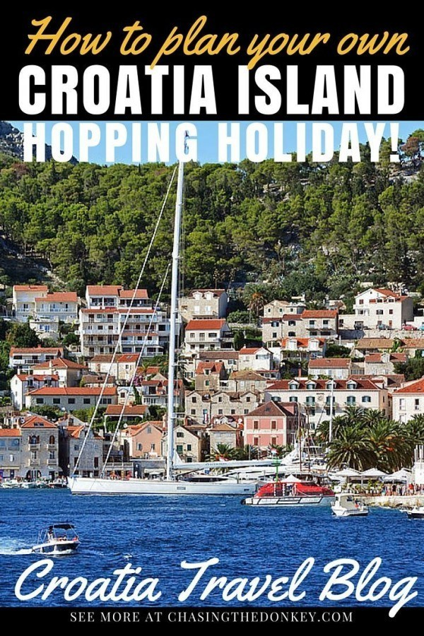 Create Your Dream Croatia Island Hopping Itinerary | Croatia Travel Blog