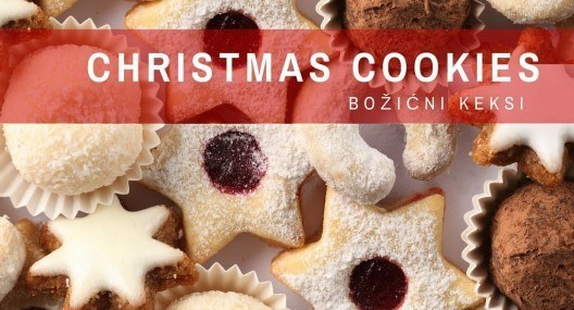 Croatian Recipes: Christmas Cookies Two Ways