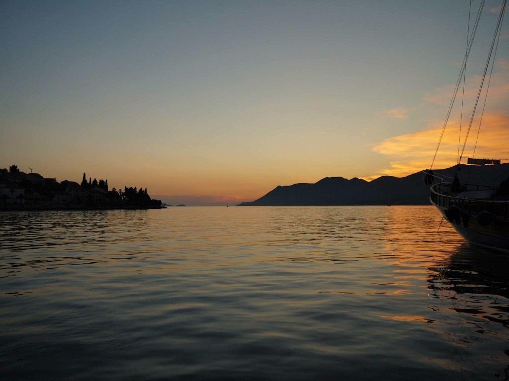Korcula Island Sunset | Korcula Travel Blog | Chasing the Donkey