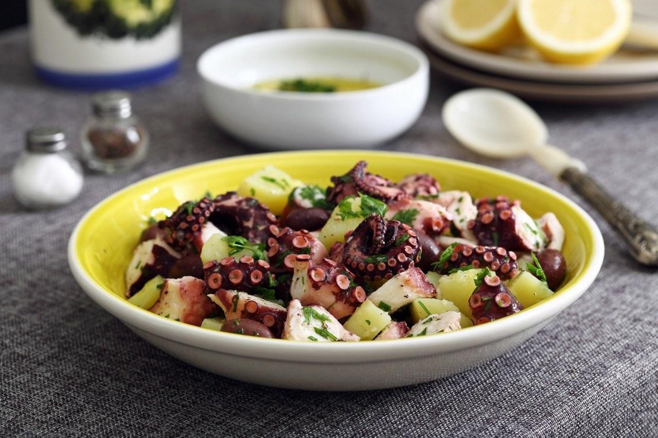 Croatian Octopus and Potato Salad Recipe