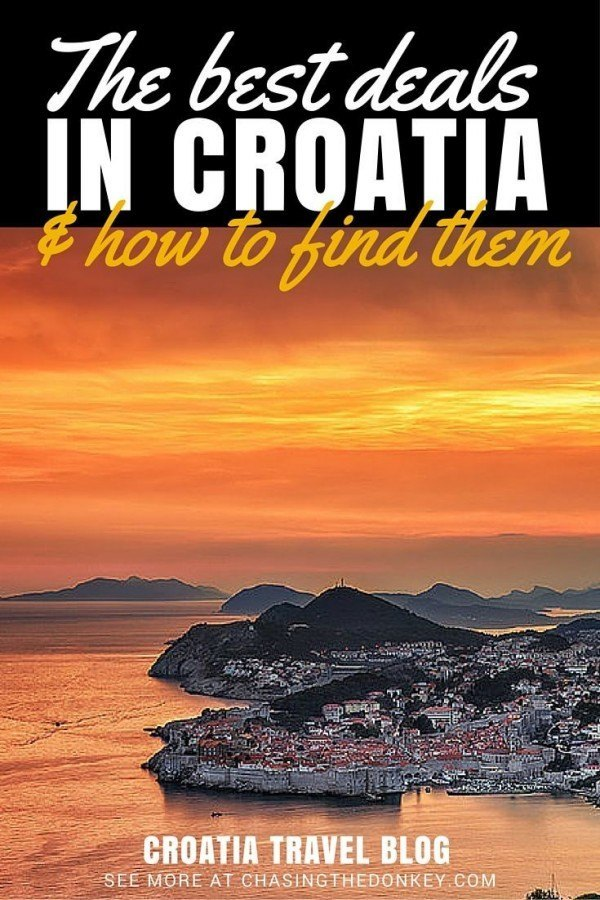 The Best Deals in Croatia & How To Find Them | Croatia Travel Blog.