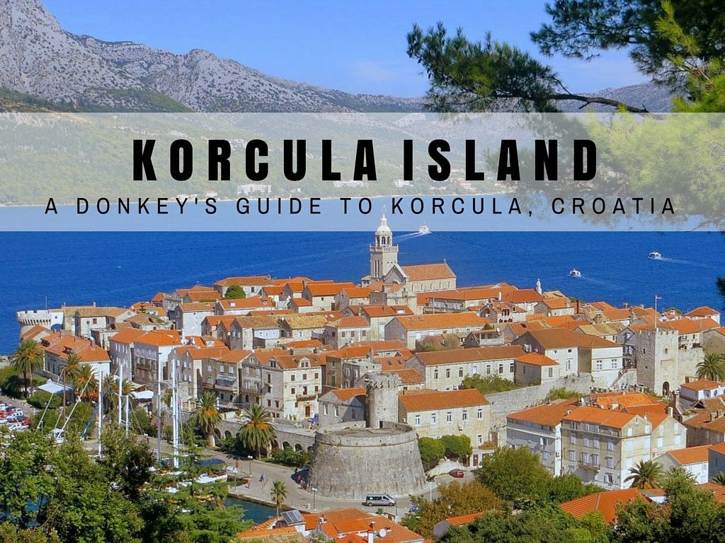 Things to do in Korcula Island Travel Blog COVER