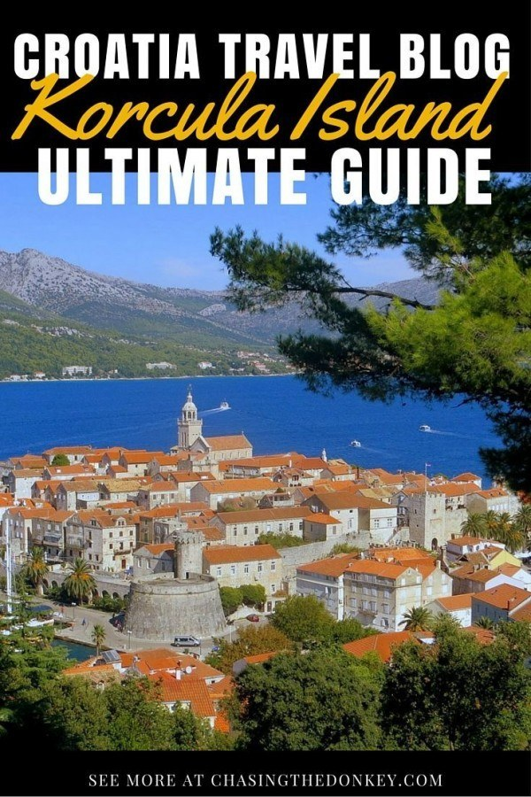 What to do in Korcula Travel Blog | Chasing the Donkey Guide