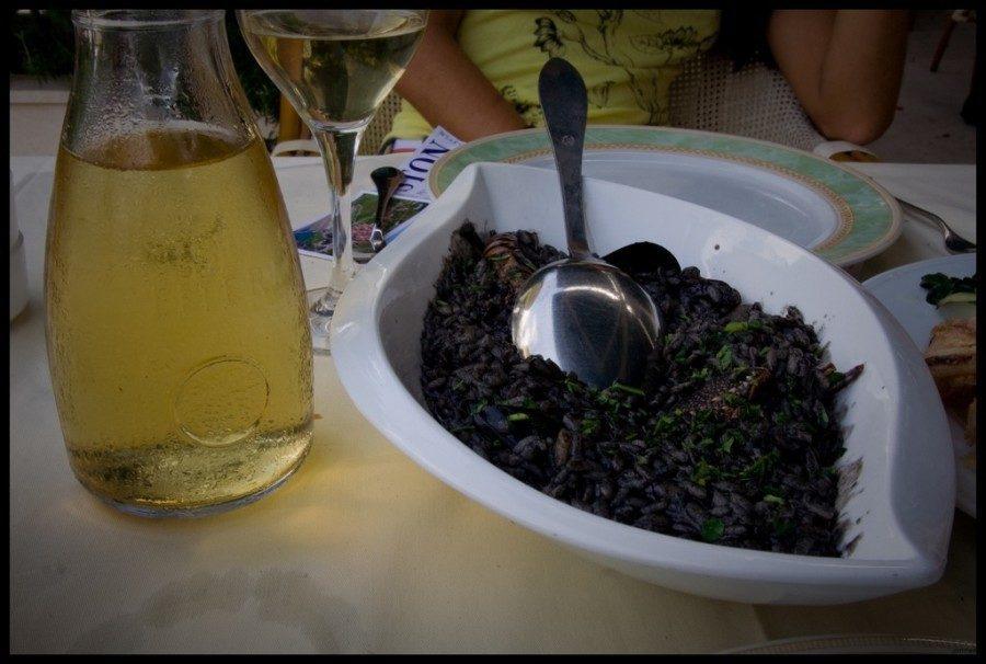 Traditional Croatian Food - Crni Rizot | Croatia Travel Blof