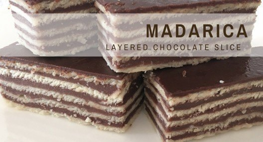 Croatian Recipe | Madarica | Layered Chocolate Cake |Chasing the Donkey Cooking Blog