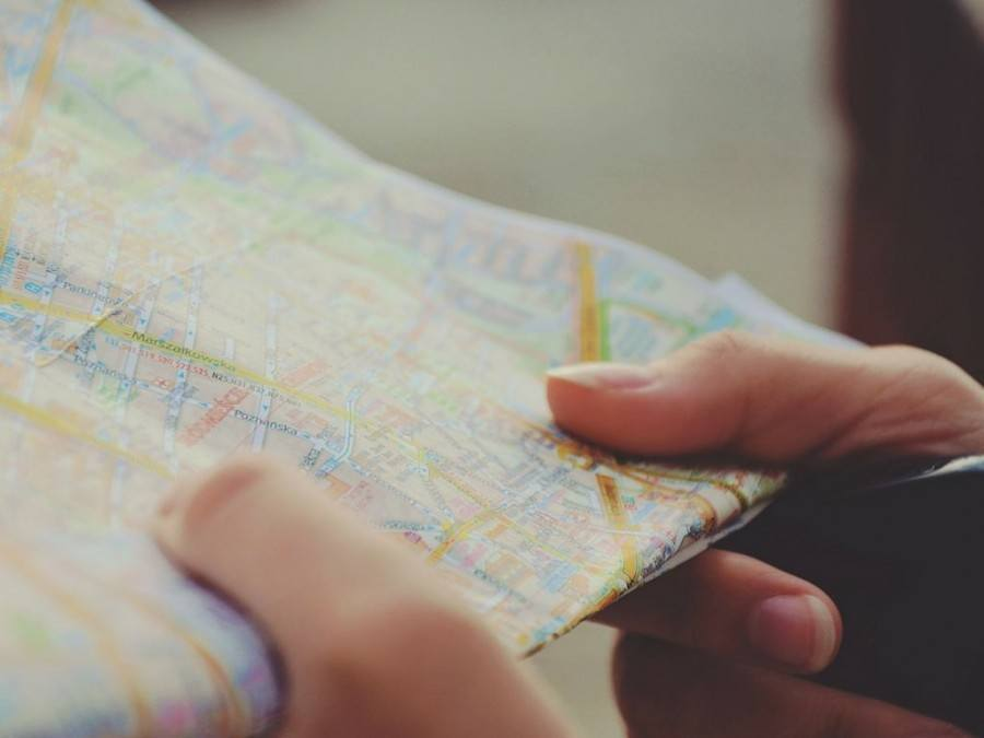 Holding a Map of Croatia | Chasing the Donkey Croatia Travel Blog