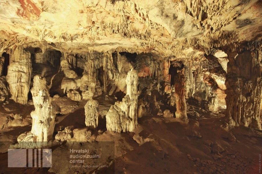 Hvar Island Grapčeva Caves Filing in Croatia