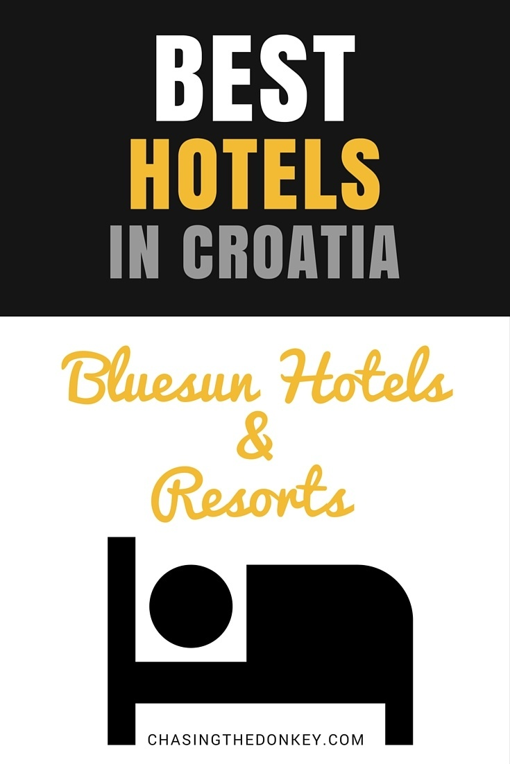 Any one of the Bluesun hotels will make an excellent choice. They are some of the best resorts in Croatia, here are a few of our favorites.