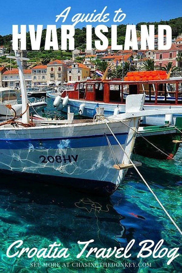 Things to do in Hvar Island Travel Blog | Chasing the Donkey