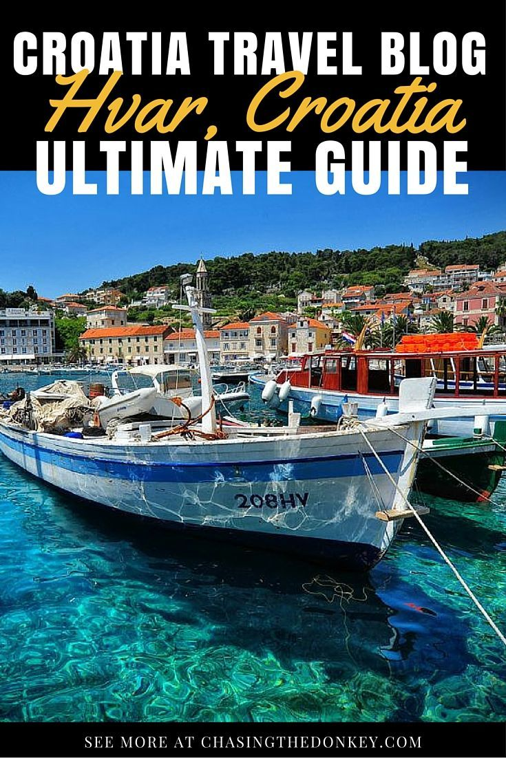 Things to do on Hvar Island. A bright spot on the Mediterranean, Hvar Island offers a luxurious island lifestyle that most people dream about - let us show you what to do in Hvar Croatia | Chasing the Donkey