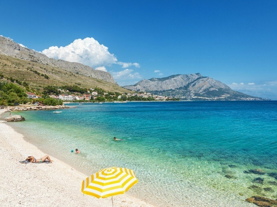 Things to do in Omis Travel Blog | Chasing the Donkey Travel Blog | Beach