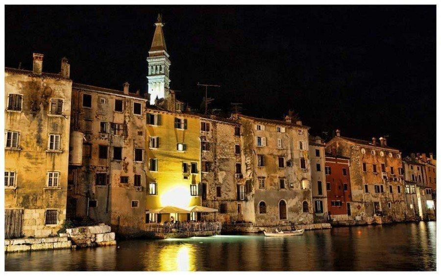 Night | Things to do in Rovinj Travel Blog | Croatia Travel Blog