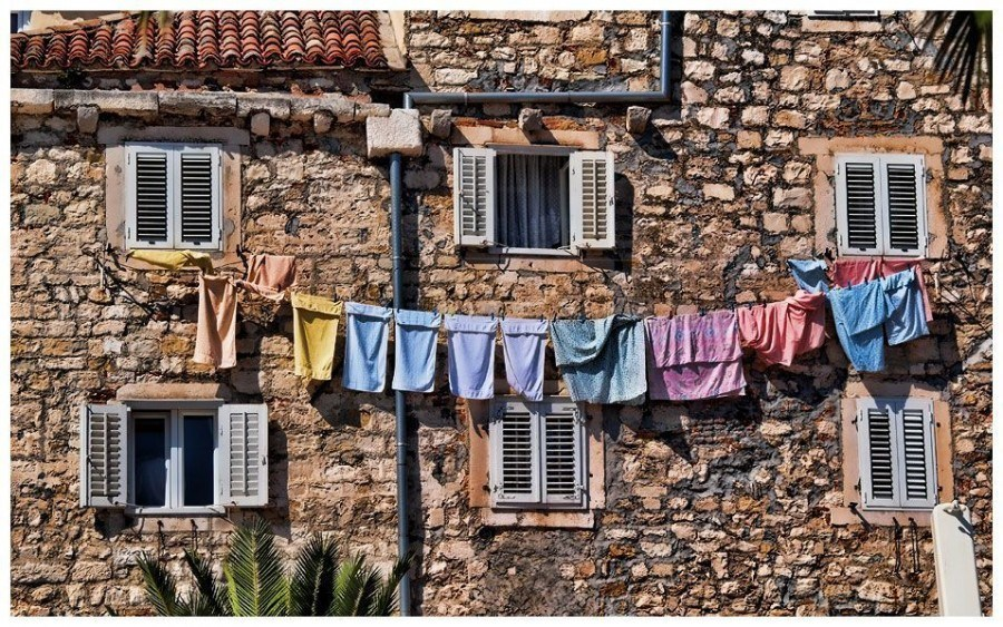 Washing | Things to do in Split | Chasing the Donkey Croatia Travel Blog