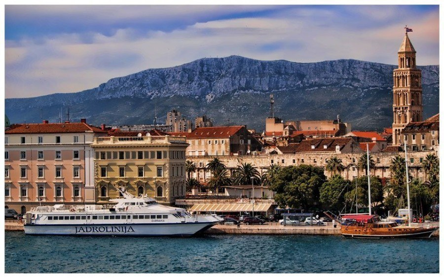 Ferry| Things to do in Split | Chasing the Donkey Croatia Travel Blog