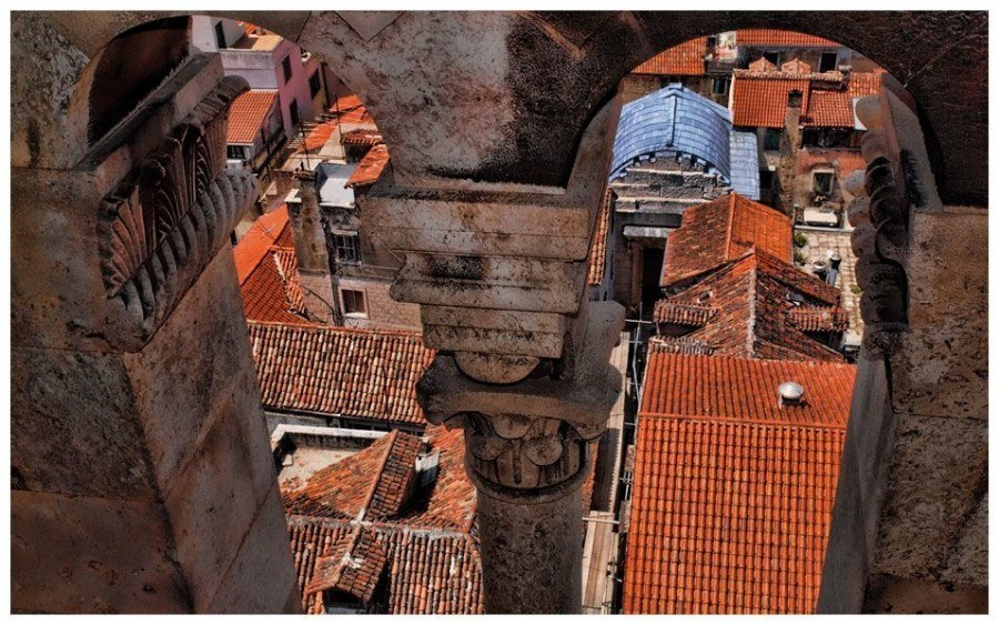 Rooftops | Things to do in Split | Chasing the Donkey Croatia Travel Blog