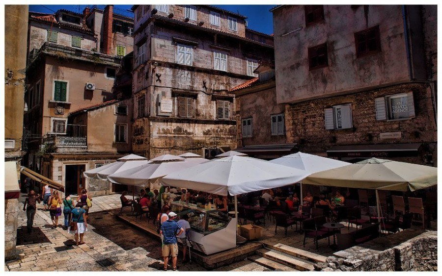 Market   Things to do in Split   Chasing the Donkey Croatia Travel Blog