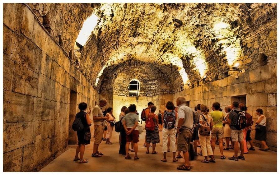 Below   Things to do in Split   Chasing the Donkey Croatia Travel Blog