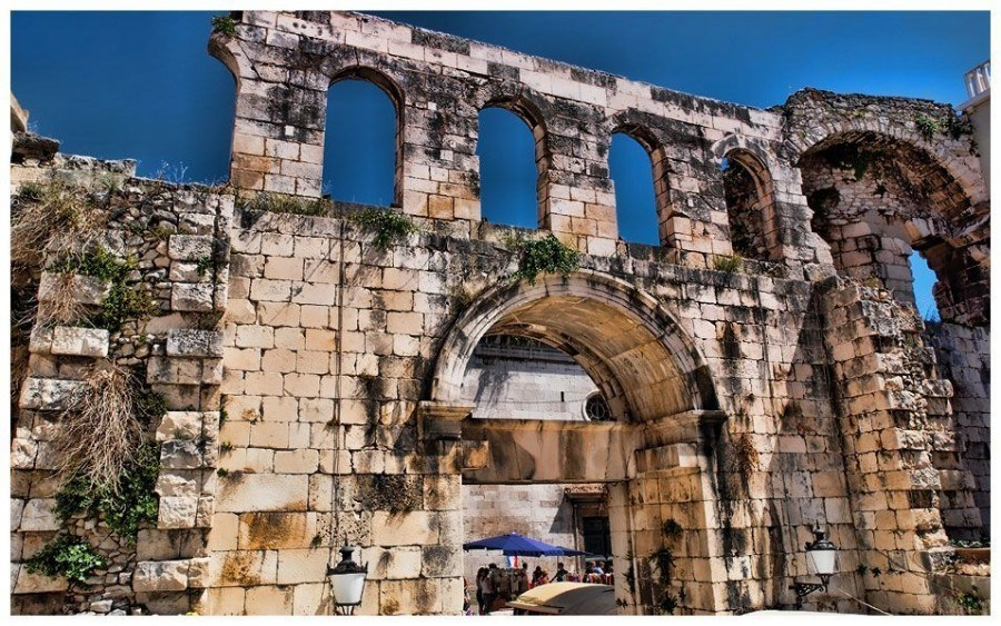 Gate   Things to do in Split   Chasing the Donkey Croatia Travel Blog