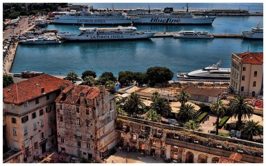 Ferry   Things to do in Split   Chasing the Donkey Croatia Travel Blog