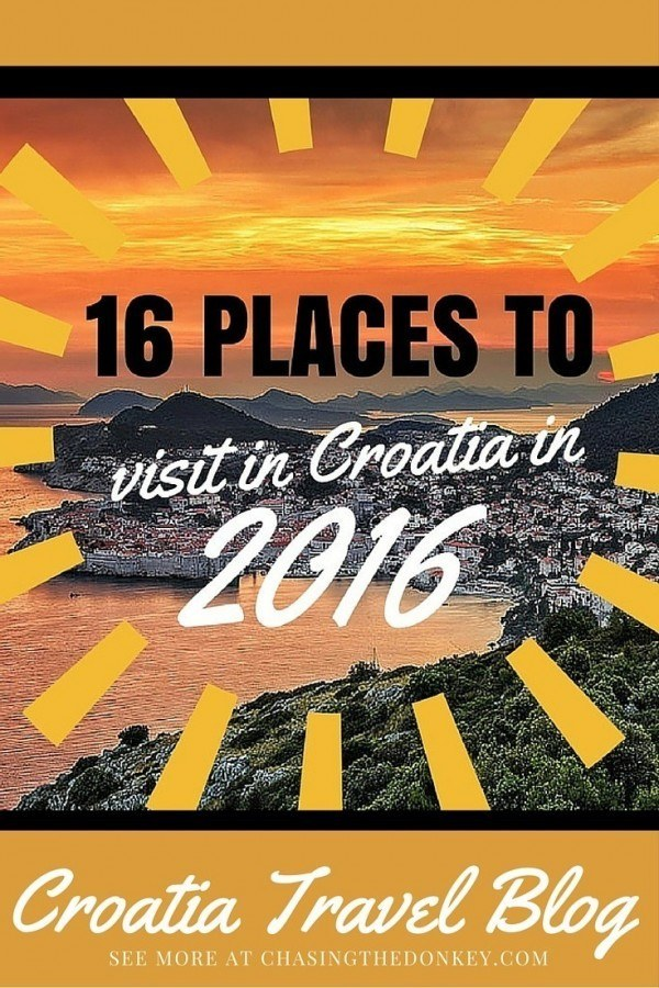 Where to go in Croatia 2016 | Croatia Travel Blog