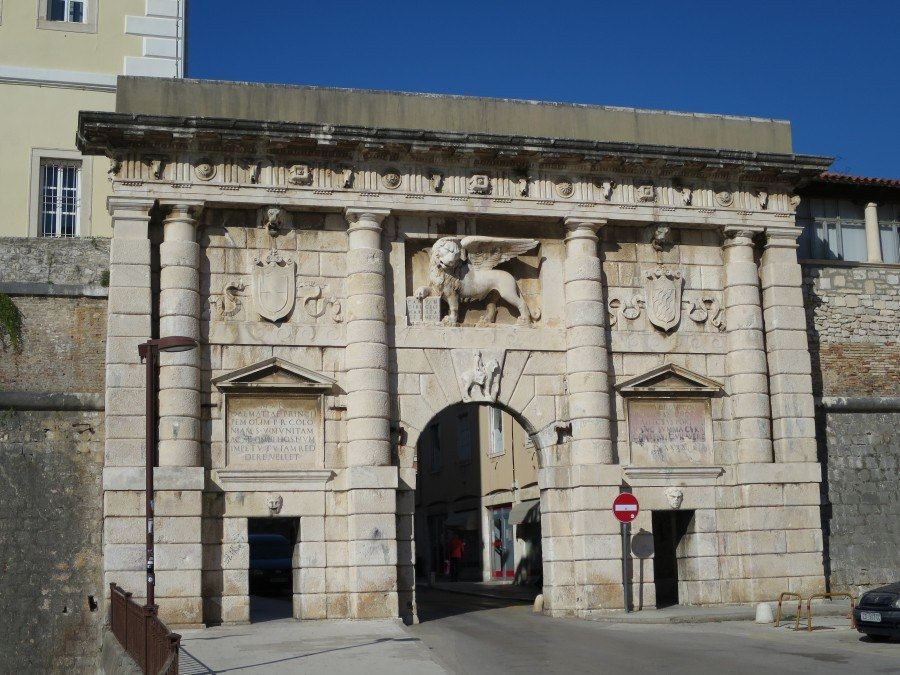 Things to do in Zadar | Zadar Land Gate | Croatia Travel Blog