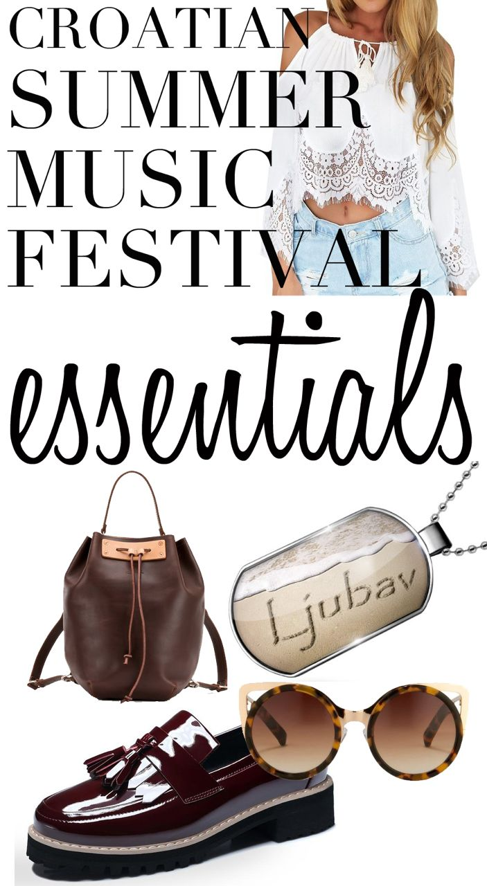 What to Pack For a Music Festival: Croatia Music Festival Essentials. Knowing what to pack for a music festival is made easy with this guide. Enjoy!