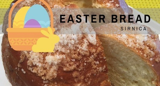 Croatian Recipes | Croatian Easter Bread | Sirnica | Chasing the Donkey