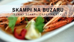 Croatian Recipes: Skampi na Buzaru