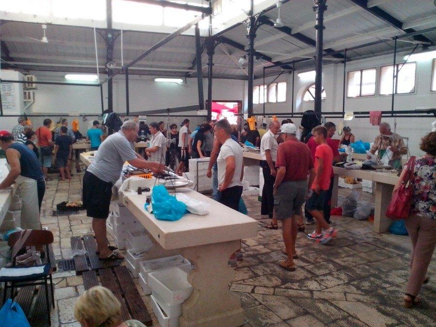 Croatia Travel Blog   Fish Market Split