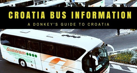 2016 Croatia Bus Timetables, Information and Online Tickets