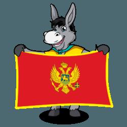 Balkan Flags_Montenegro 1