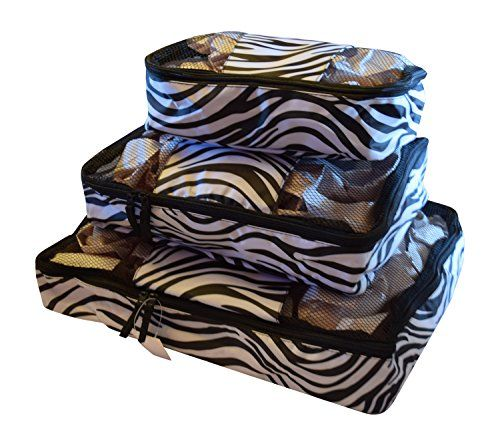 Best Travel Packing Cubes Zebra