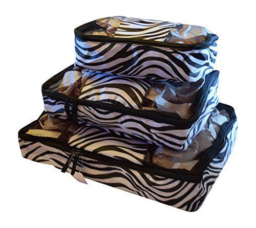 Best Travel Packing Cubes Zebra