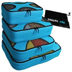Best Travel Packing Cubes with laundry bag