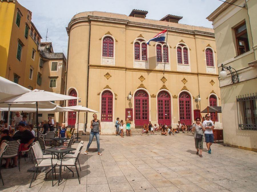 Neo-Renaissance Theater Building, Šibenik | Things to do in Šibenik Croatia Travel Blog