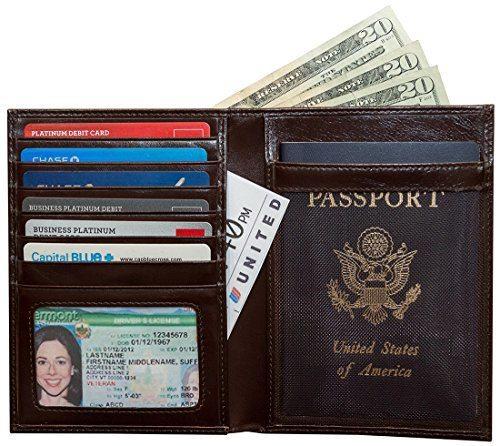 RFID Blocking Leather Passport Travel WalletBest Travel Wallet Reviews | Chasing the Donkey Croatia Travel Blog