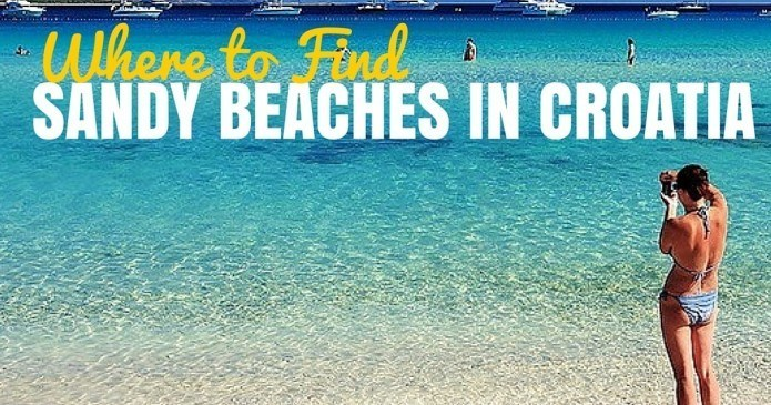 Sandy Beaches in Croatia   Croatia Travel Blog   Chasing the Donkey
