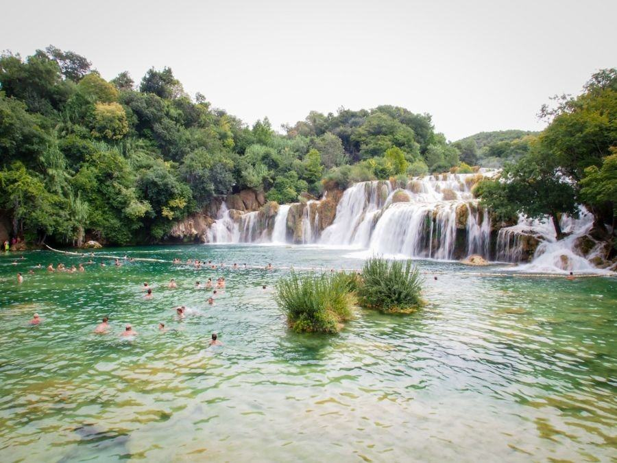 Skradinski Buk, Krka National Park | Things to do in Šibenik Croatia Travel Blog