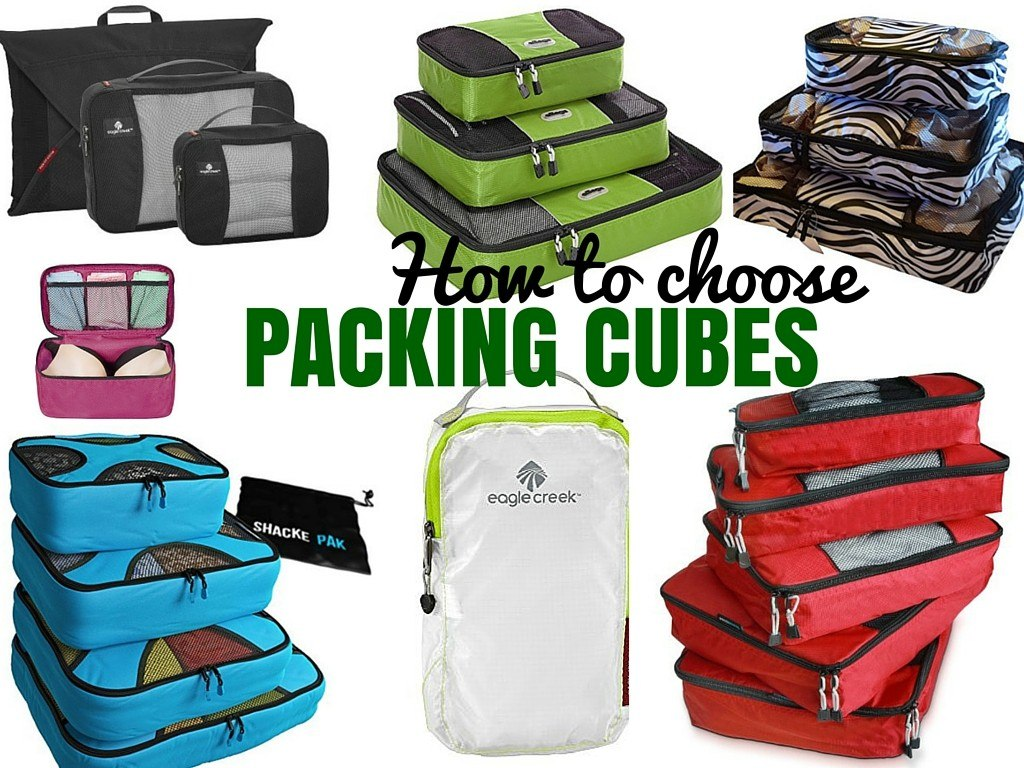 The Best Travel Packing Cubes