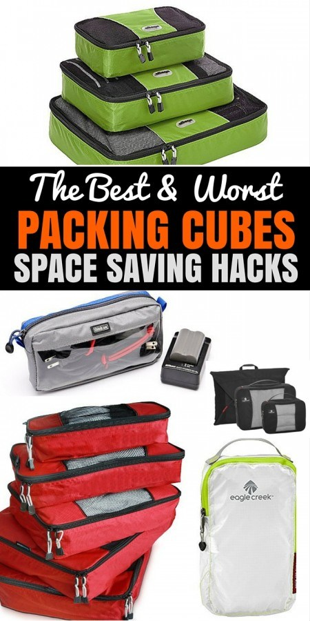 The Best Travel Packing Cubes For Travel