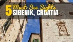 Top 5 Things to do in Šibenik Croatia