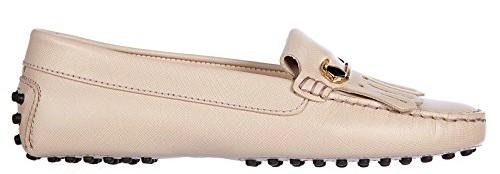 Tod's women's leather loafers moccasins_Best Waterproof Travel Shoe