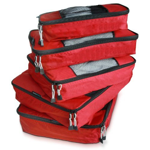 TravelWise Best Travel Packing Cube_Five Piece Weekender Set