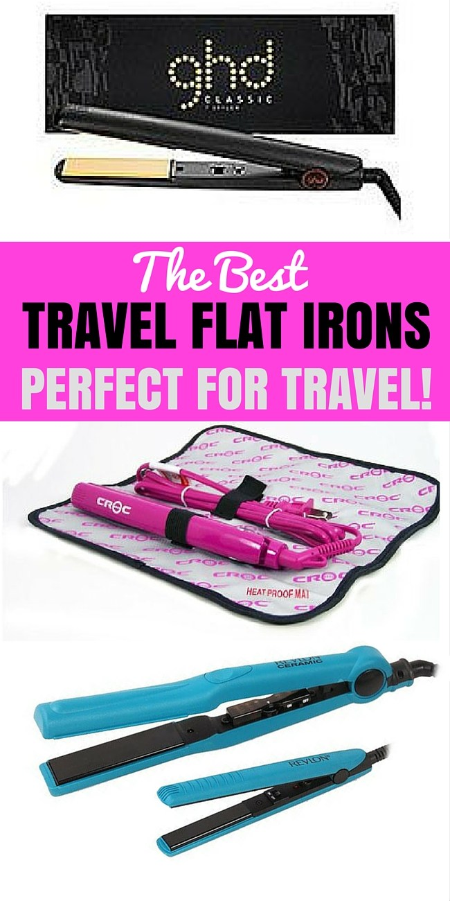 Here is your guide on how to choose the best travel flat irons and hair straighteners. Included is a comparison chart and eviews to help you decide.