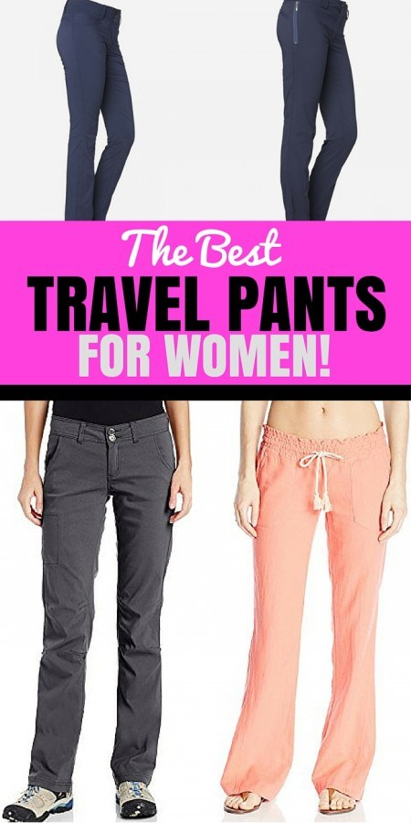Best Travel Pants For Women Review