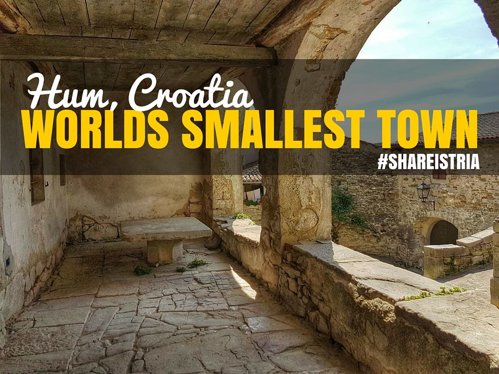 Worlds Smallest Town Hum Croatia Share Istria | Croatia Travel Blog