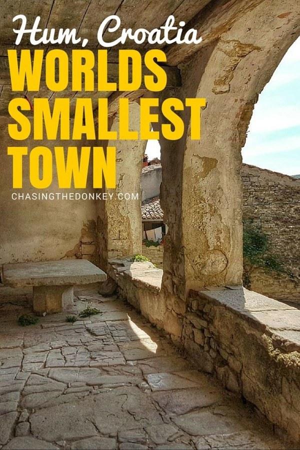 Worlds Smallest Town Hum Croatia Share Istria | Croatia Travel Blogger