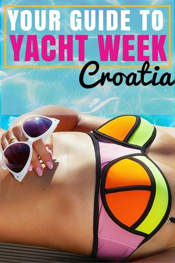 Yacht Week Croatia | Croatia Travel Blog Guide