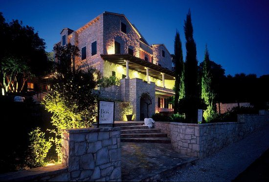 Boskinac Hotel - Night - Chasing the Donkey Croatia Travel Blog